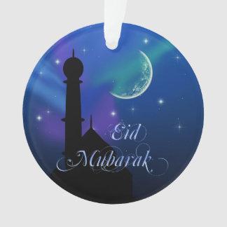 Noite mágica de Eid - ornamento islâmico do