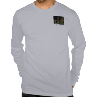 Noite na camisa de Luau Tshirts