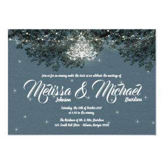Noite sob as estrelas que Wedding o convite