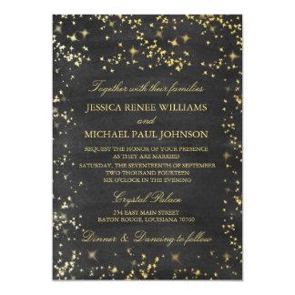 Noites estrelados que Wedding convites