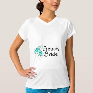 Noiva da praia (casamento de praia) camiseta