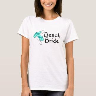 Noiva da praia (falhanço de sacudir) camiseta