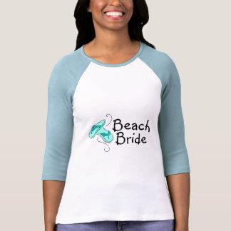 Noiva da praia (falhanço de sacudir) t-shirts