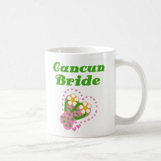Noiva de Cancun Caneca