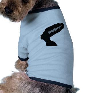 Noiva de Frankenstein Camisa Ringer Para Cachorro