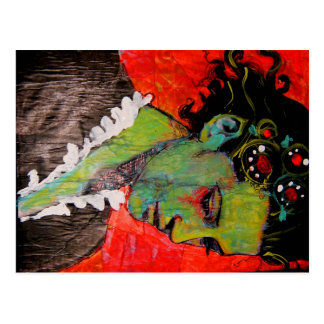 Noiva do cartão de Frankenstein