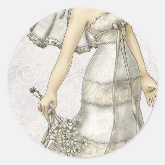 Noiva do laço adesivo