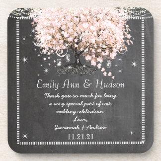 Noiva do quadro & porta copos do casamento do
