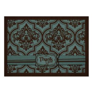 Noiva gótico TY Notecard Cartão De Visita Grande