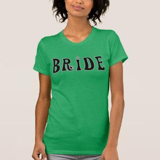 Noiva preta tshirt