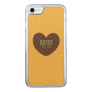 Noiva retro a ser capa iPhone 7 carved