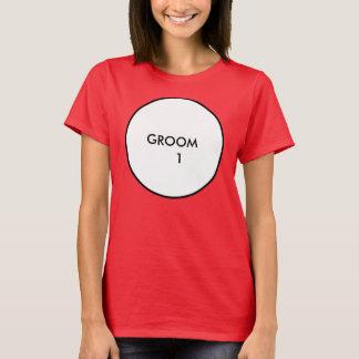 Noivo 1 camiseta
