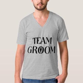 Noivo da equipe - T engraçado do despedida de Camiseta
