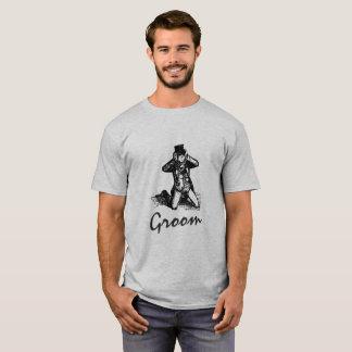 Noivo engraçado - camisetas engraçadas