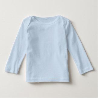 Nome azul do costume da letra B da tipografia do Tshirts