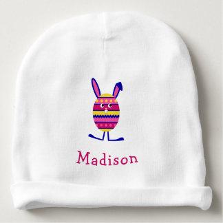 Nome bonito do costume do rosa do coelhinho da gorro para bebê