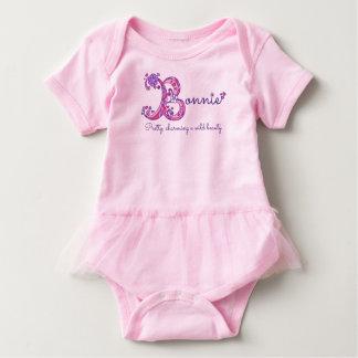 Nome Bonnie das meninas & significado da camisa do Body Para Bebê