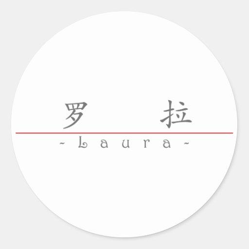 Nome chinês para Laura 20198_1.pdf Adesivos Em Formato Redondos