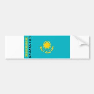 Nome cirílico do texto do país da bandeira de adesivo para carro