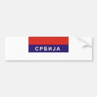 nome cirílico do texto do russo do país da adesivo para carro
