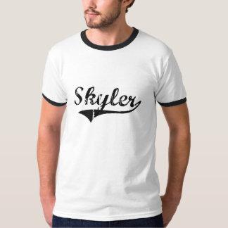 Nome clássico do estilo de Skyler T-shirts