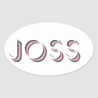 Nome da etiqueta de Joss