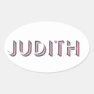 Nome da etiqueta de Judith