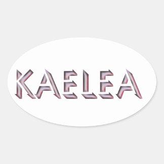 Nome da etiqueta de Kaelea
