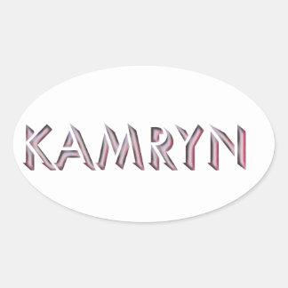 Nome da etiqueta de Kamryn
