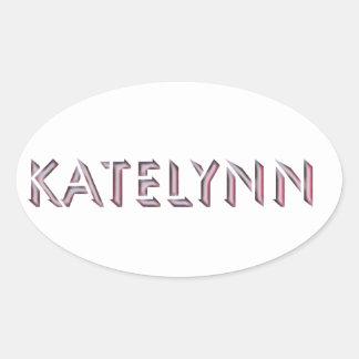 Nome da etiqueta de Katelynn