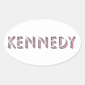 Nome da etiqueta de Kennedy