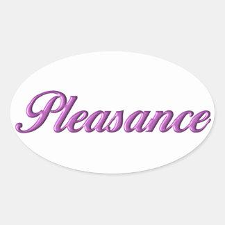 Nome da etiqueta do Pleasance
