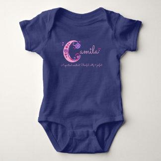 Nome das meninas de Camila & significado do romper Body Para Bebê