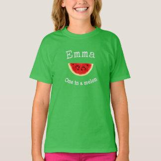 """Nome de Emma ou de sua criança """"um camisa de um"""