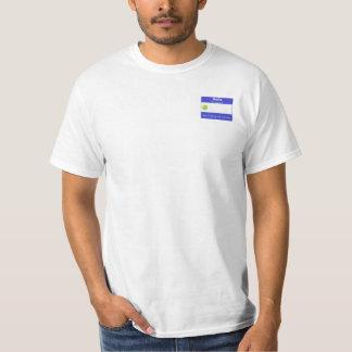 Nome de etiqueta do tênis t-shirts
