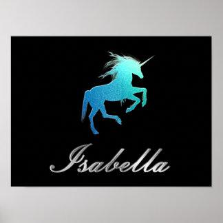 Nome de Isabella - escolha sua cor Pôster