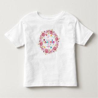 Nome de Isabelle Camiseta Infantil