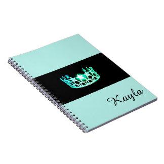 Nome do costume do caderno da coroa do verde de