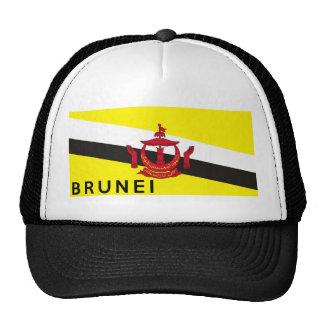 nome do texto do país da bandeira de brunei boné