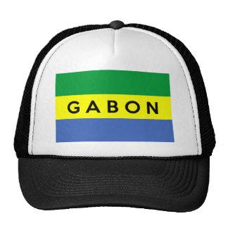 nome do texto do país da bandeira de gabon boné