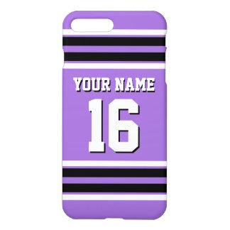 Nome feito sob encomenda Amethyst do número do Capa iPhone 7 Plus