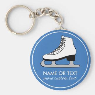 Nome feito sob encomenda do patinador da equipe do chaveiro