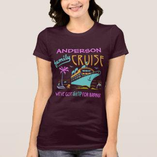 Nome feito sob encomenda engraçado V3 do navio | Camiseta