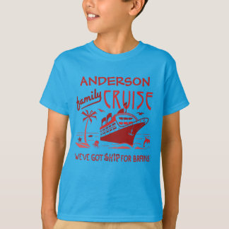 Nome feito sob encomenda engraçado V5 do navio | Camiseta