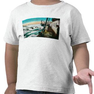 Nome navio a vapor Corwin de Alaska que descarreg T-shirt
