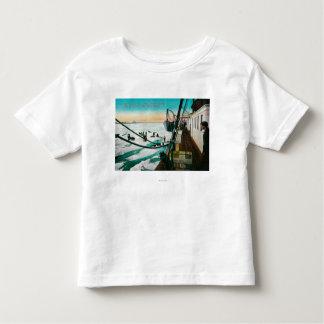 Nome, navio a vapor Corwin de Alaska que T-shirts