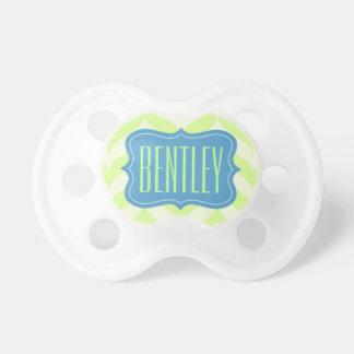 """Nome personalizado de """"Bentley"""" Chupeta Para Bebê"""
