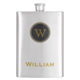 nome personalizado frasco de bebida
