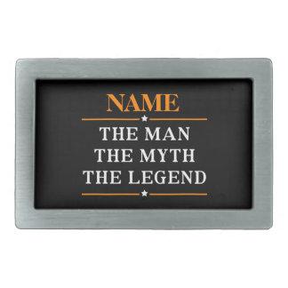Nome personalizado o homem o mito a legenda