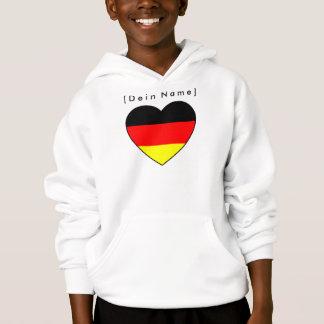 Nome próprio futebol Alemanha camisola coração